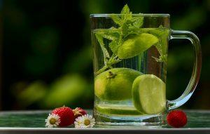 Wasser mit Geschack